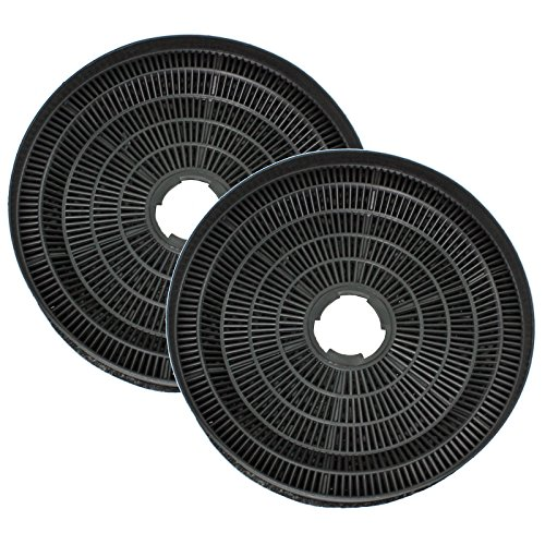 spares2go runde kohle vent filter f r dunstabzugshauben bauknecht backofen packung mit 2 agertoh. Black Bedroom Furniture Sets. Home Design Ideas